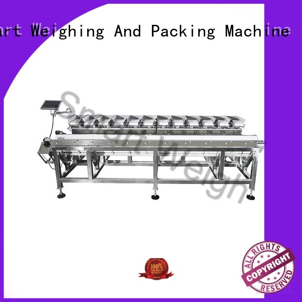 shape smart automatic save manpower combination weigher Smart Weigh