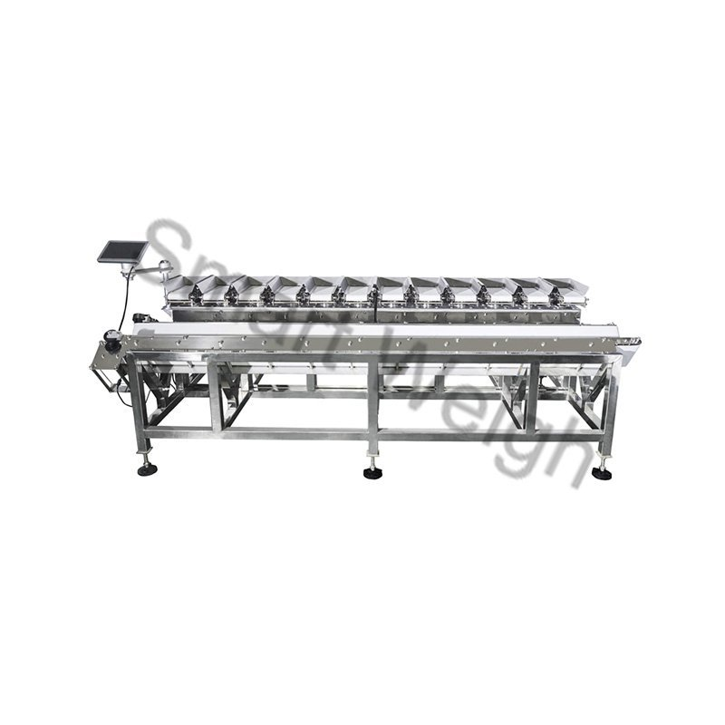Smart Weigh  SW-LC12V  V Shape 12 Head Linear Combination Weigher