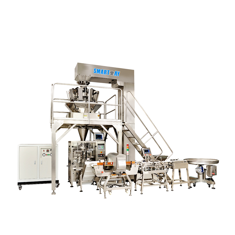 Vertical Multihead Weigher Packing System