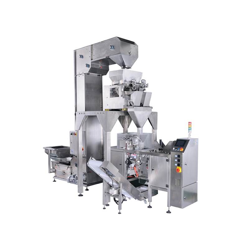 Linear Weigher Preformed Bag Packing System
