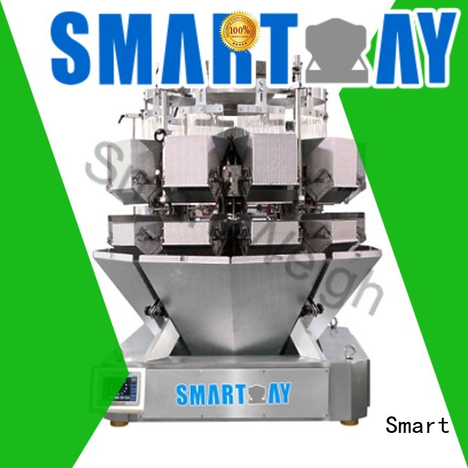 speed Custom mini multihead weigher accurate Smart