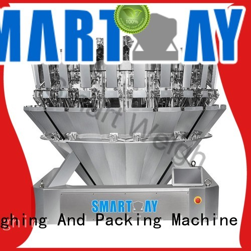 multihead weigher packing machine discharge multihead weigher Smart Weigh Brand