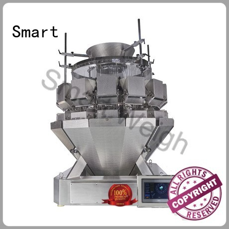 large Custom mixture speed multihead weigher Smart accurate