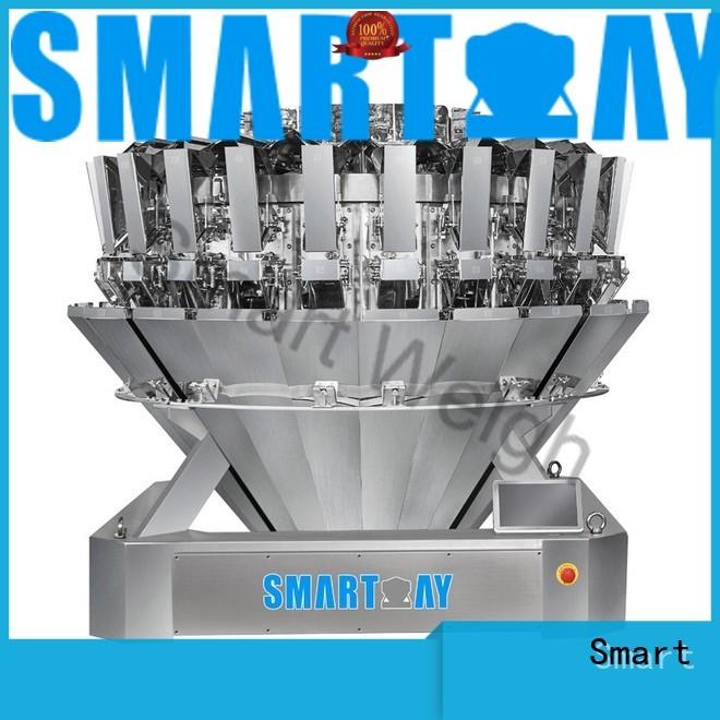 large screw mixture salad multihead weigher Smart