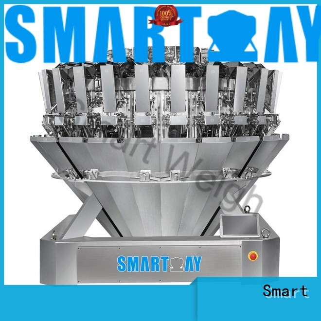 large screw mixture salad multihead weigher Smart