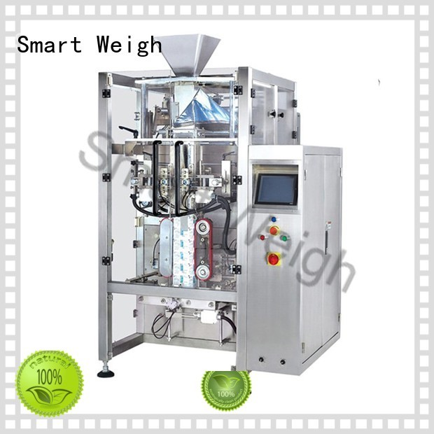 quadsealed pouch packaging machine stand-up Smart Weigh company