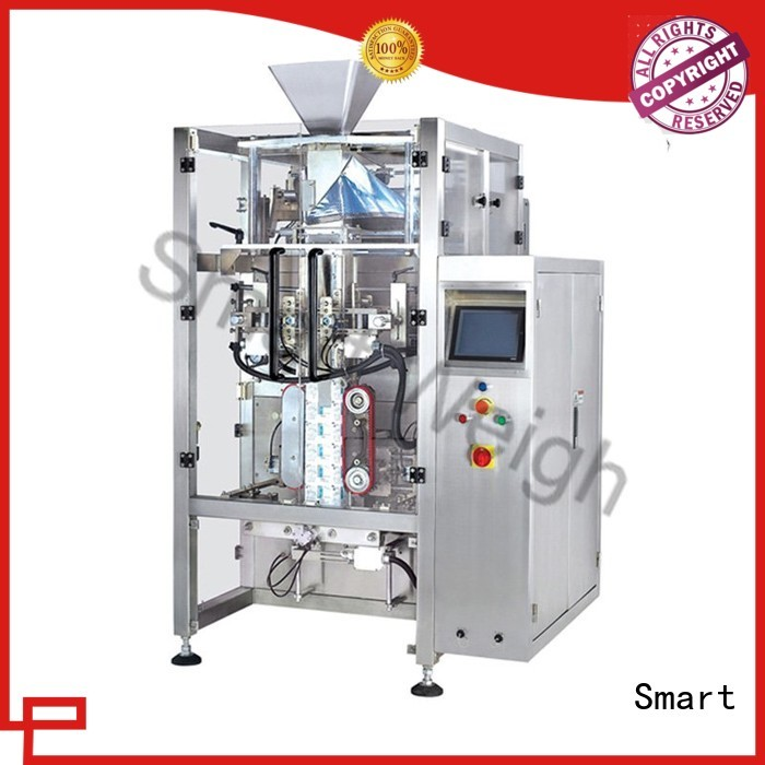 stand-up Custom weigher quadsealed packaging machine Smart vertical