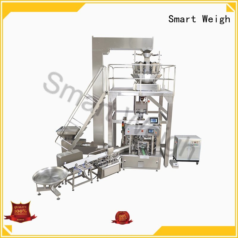 bag measure weigh OEM automated packaging systems Smart Weigh