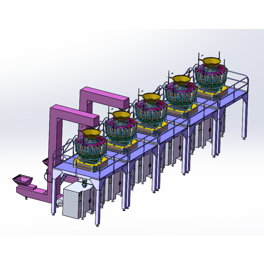 Nuts High Speed Packing System