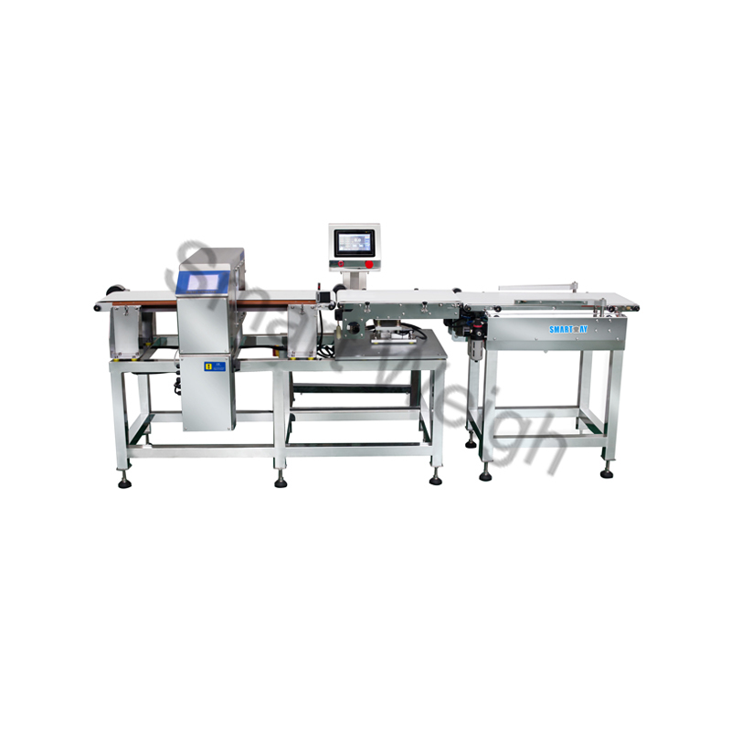 Smart Weigh Smart Weigh Combined Metal Detector and Checkweigher Inspection Machine image1
