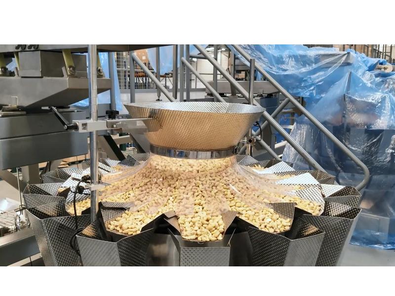 Cashew Nuts Quad-sealed Bag Packing Line