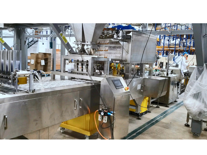 Almonds Tray Packing Line