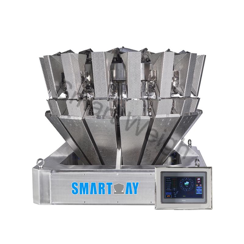 Smart Weigh Smart Weigh  SW-M16 High Speed 16 Head Multihead Weigher Multihead Weigher image13