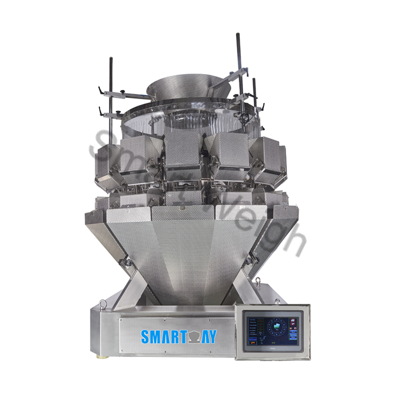 Smart Weigh Smart Weigh SW-ML14 Salad 14 Head Multihead Weigher Multihead Weigher image14