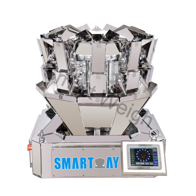 Smart Weigh SW-MS10 Accurate Mini 10 Head Multihead Weigher