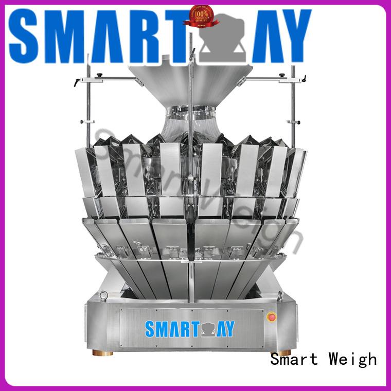 salad speed Smart Weigh Brand multihead weigher packing machine