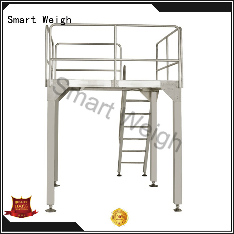 working Custom table working platform weigh Smart Weigh