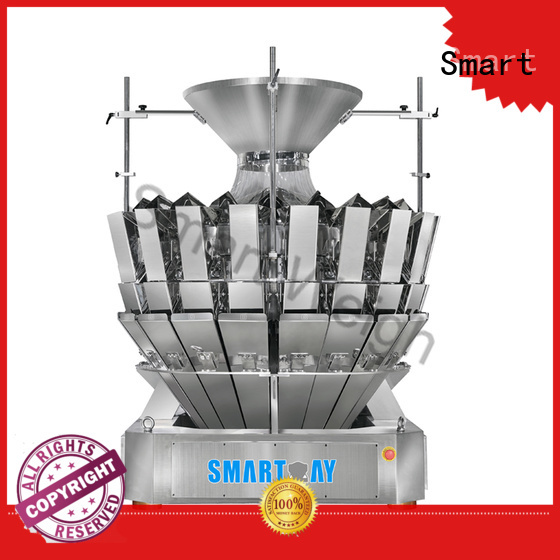 speed salad multihead weigher packing machine mini Smart company