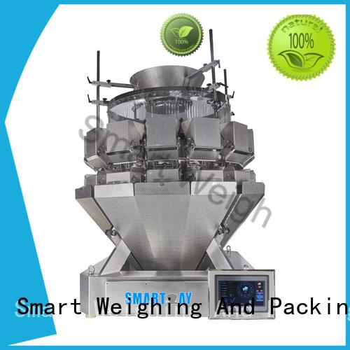 Smart Brand mini large screw custom multihead weigher packing machine