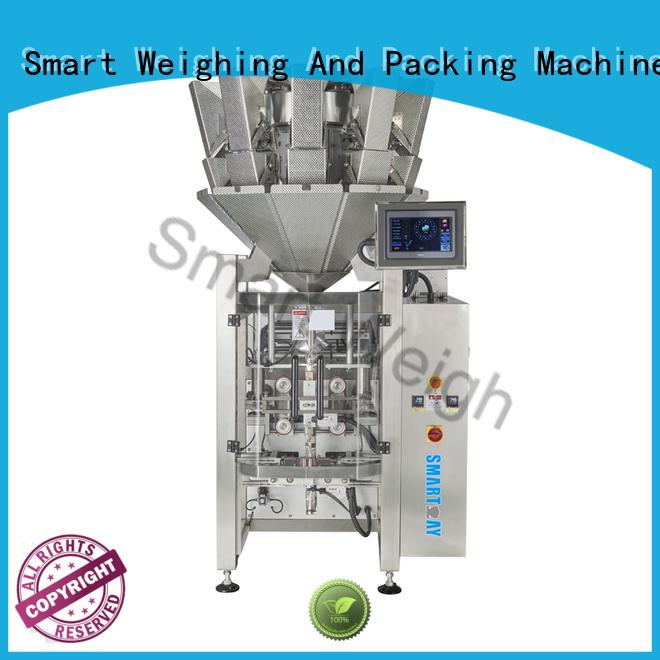 weigher vffs bag quadsealed Smart Weigh Brand